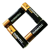 Duracell Plus AA Battery x4
