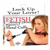 Fetish Fantasy Series Beginner's Metal Handcuffs *Free Gift